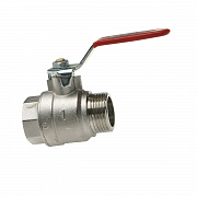 Ball valve for modular big size manifolds